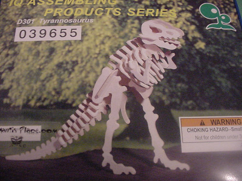 Tyrannosaurus wood puzzle
