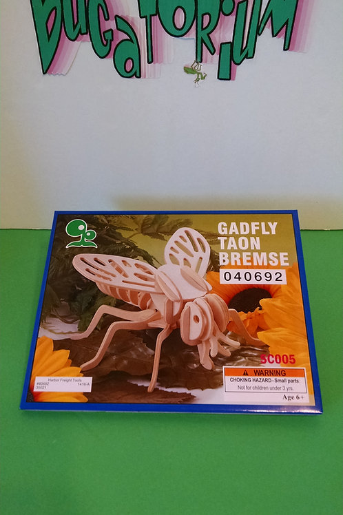 Gadfly wood puzzle