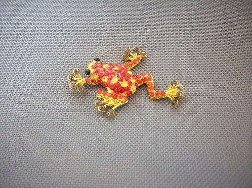 Frog broach red