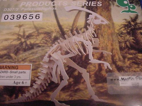 Parasurolophus wood puzzle