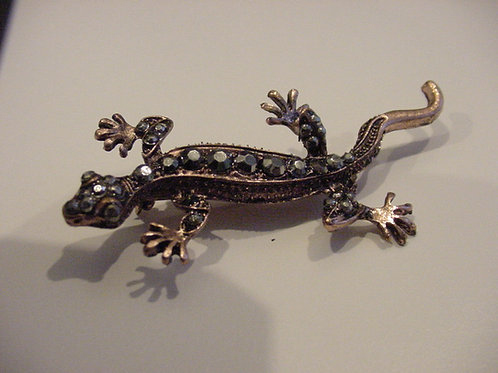 Chameleon Brooch