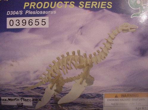 Plesiosaurus wood puzzle