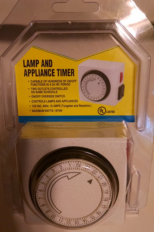 TIMER with side outlet