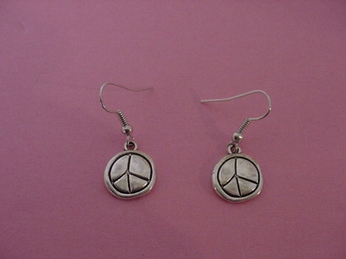 Peace Earrings thick
