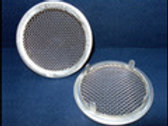 "1-1"" aluminum vent/small hex, round containers"
