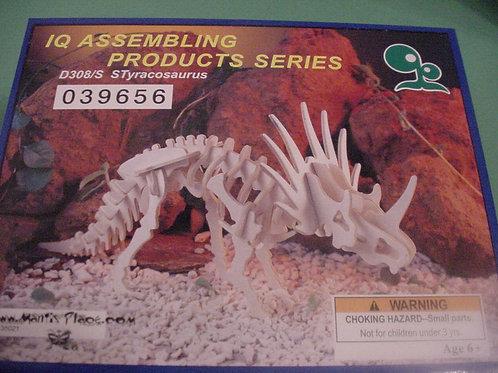 Styracosaurus wood puzzle