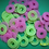 Thumbnail: Molting rings (12) pack, pink, small