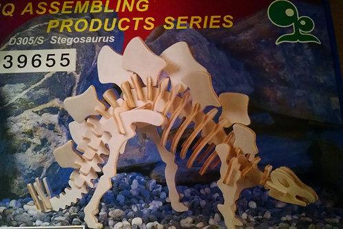 Stegosaurus wood puzzle
