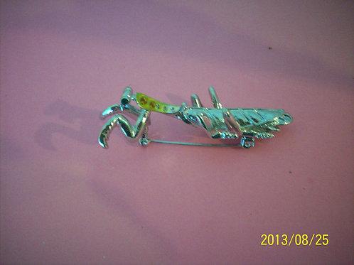 Praying mantis Green pin
