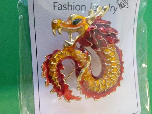 Dragon pin or broach