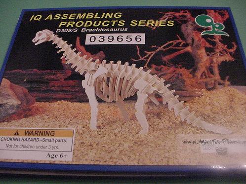 Brachiosaurus wood puzzle