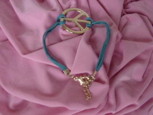 Peace bracelet Blue