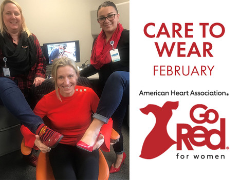 February Care to Wear - Go Red For Women