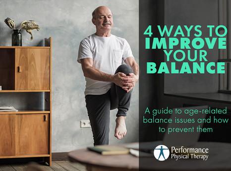4 Ways To Improve Your Balance
