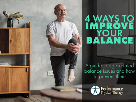 4 Ways To Improve Your Balance