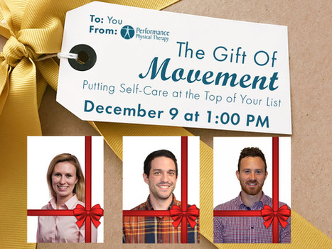 Giving the Gift of Movement For the Holidays
