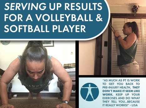 Serving Up Results for a Volleyball & Softball Player