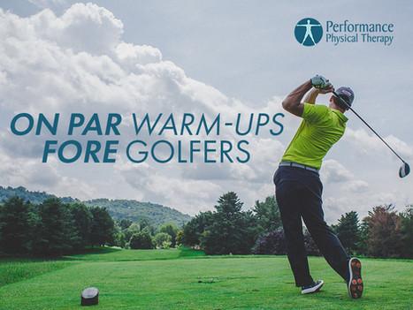 On Par Warm-Ups FORE Golfers