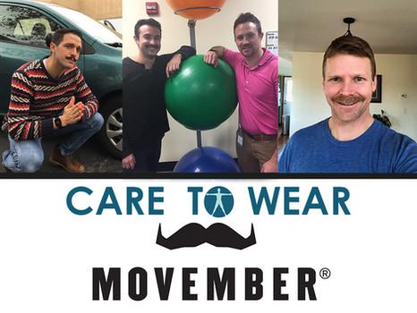 November Care to Wear- Movember