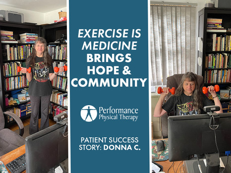 Exercise is Medicine Is More Than Just Exercise – It's Hope & Community!