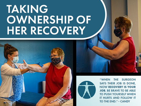 Taking Ownership of Her Recovery