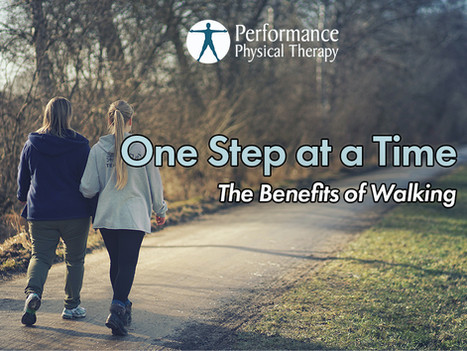 One Step at a Time: The Benefits of Walking