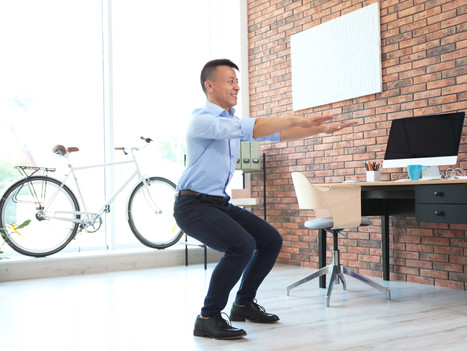 6 Easy Stretches To Reduce Pain From Your Office Job