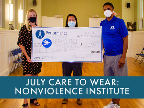 July Care To Wear - Nonviolence Institute