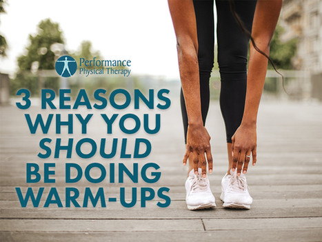 3 Reasons Why You Should Be Doing Warm-Ups