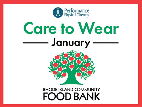 January Care to Wear - RI Community Food Bank