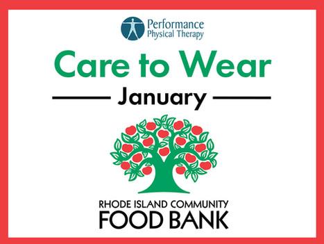 January Care to Wear - RI Community Food Bank