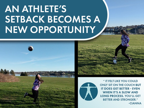 An Athlete's Setback Becomes a New Opportunity