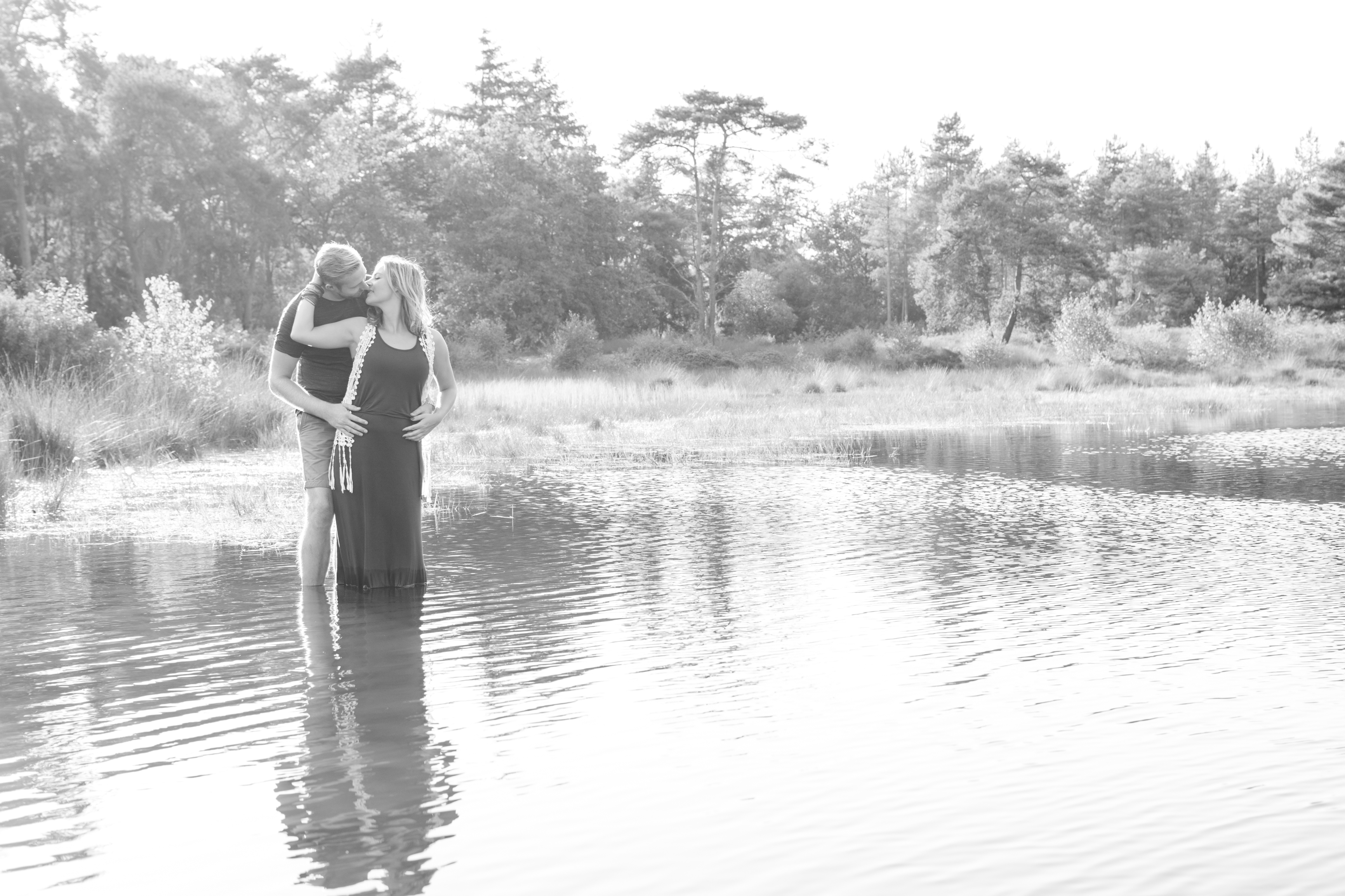 1. Esther en Peter Loveshoot in zw-1