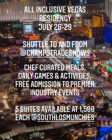 Registration for Las Vegas Residency July 26-29