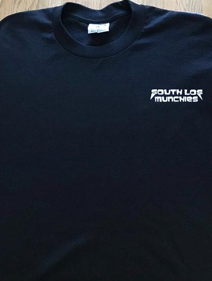 South Los Munchies Black T-Shirt