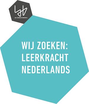 vacature leerkracht nederlands
