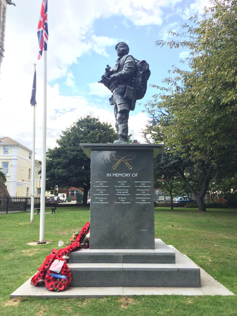 The Gurkha, Folkestone