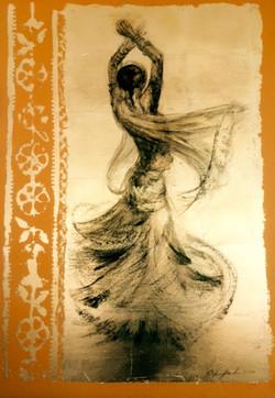 Girl Dancing on Okre