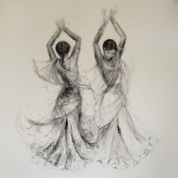 Indian Girls Dancing,