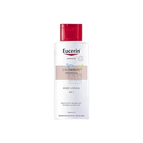 Eucerin ultra white+spotless body lotion spf 7