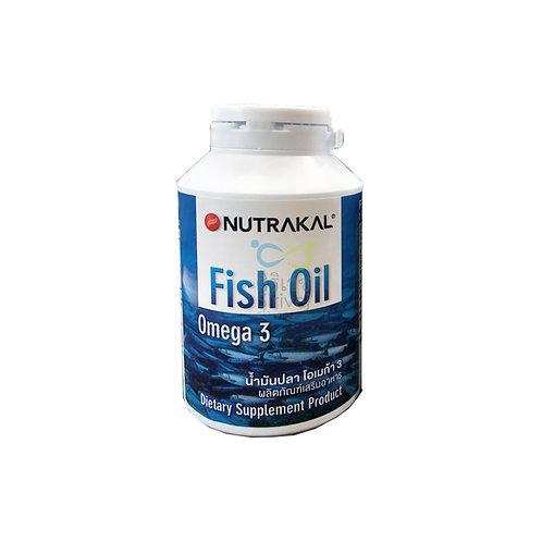 NUTRAKAL Fish Oil (น้ำมันปลาเข้มข้นจากธรรมชาติ)