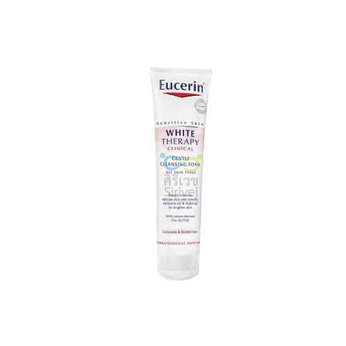 Eucerin white therapy cleansing foam