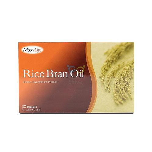 Maxxlife rice bran oil