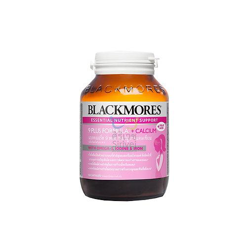 Blackmores 9 Plus Formula + Calcium แบลคมอร์ส 9 พลัส ฟอร์มูลา พลัส แคลเซียม (ผลิ