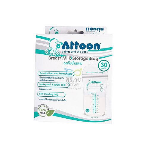 Attoon ถุงเก็บน้ำนม
