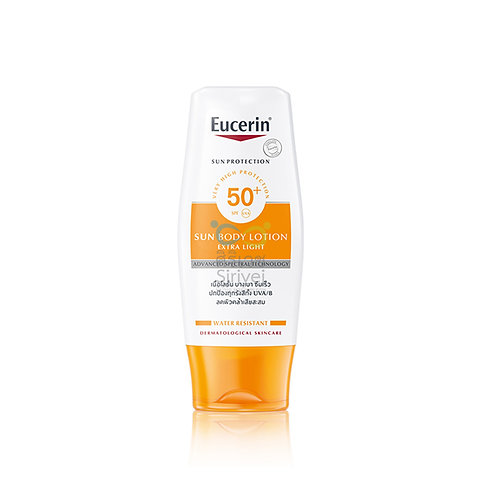 Eucerin sun lotion extra light spf 50+