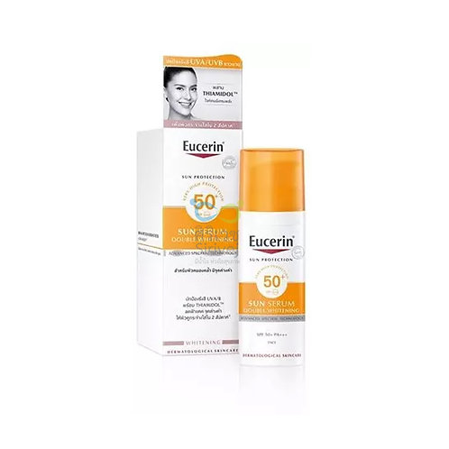 Eucerin sun double whitening serum