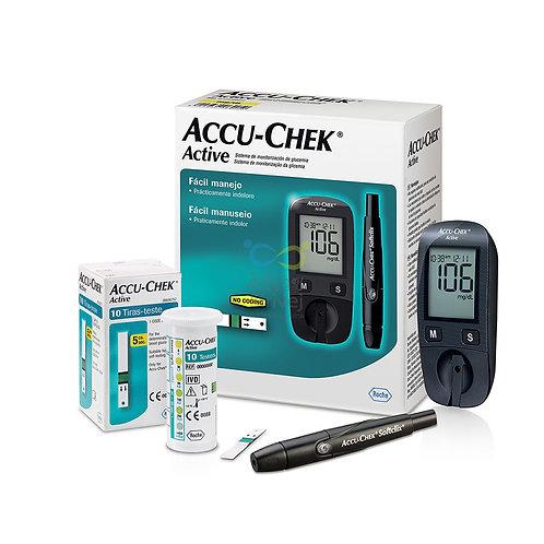ACCU-CHEK เครื่องตรวจวัดน้ำตาลรุ่น ACTIVE