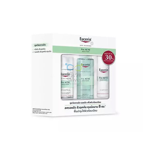 Eucerin pro acne solution set