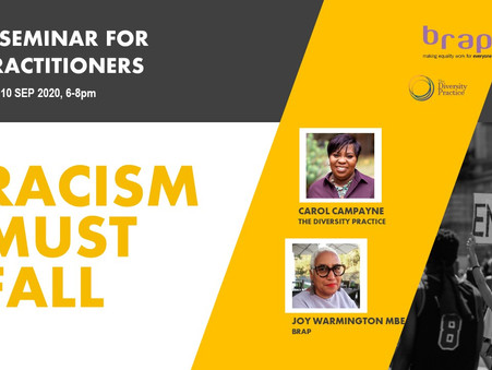 Becoming an anti-racist practitioner